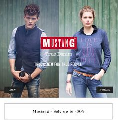 Mustang Sale up to -30% #jeansstore #online #store #sale #mustang
