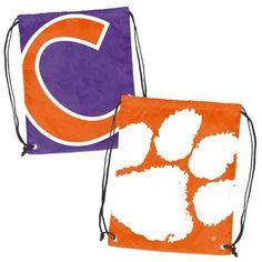 Clemson Tigers NCAA Doubleheader Reversible Backsack