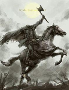 Criatura Legendaria: El Jinete sin Cabeza - Headless Horseman