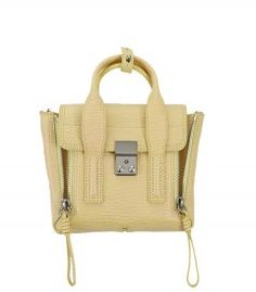 Investment Piece: 3.1 Phillip Lim Pollen Pashli Mini Satchel - Shop more spring buys for every budget: http://shop.harpersbazaar.com/trends/spring-updates-at-every-budget