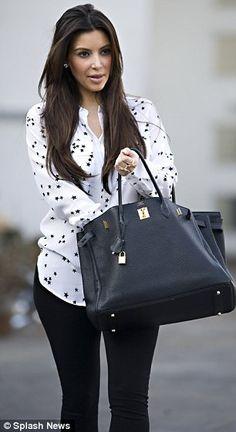 hermes handbags kim kardashian