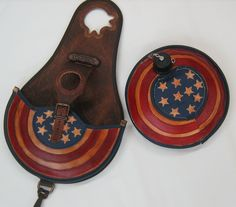 Saddle bag Flaschenhalter Comancheros