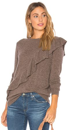 a43d75b372bfd1 68 Best Ruffle sweater love images