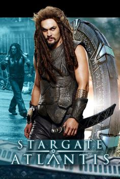 Stargate Atlantis poster #7 of Jason Momoa as Ronon Dex