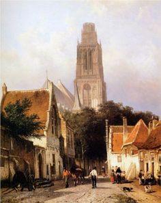Church in Zaltbommel - Cornelis Springer