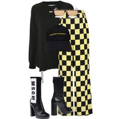 Untitled #2233 by givenchey on Polyvore featuring polyvore, moda, style, Off-White, MSGM, fashion and clothing