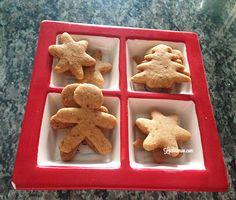 Último post do ano é receita de bolacha de Natal sem glúten, lactose e ovos. Ainda dá tempo de fazer e curtir as festas de fim de ano sem passar mal :D