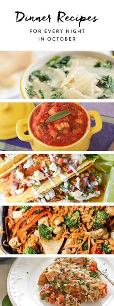 Heres what to eat for dinner every night in october dinners food heres what to eat for dinner every night in october recipes dinnerfall recipesyummy recipeswestern foodnight forumfinder Gallery