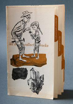 Shell, Let's collect rocks brochure. 1960 by Javier Garcia Design, via Flickr