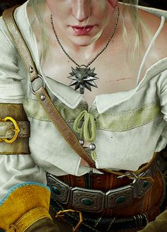 The Witcher Confessions Ciri Witcher, Witcher Art, Witcher 3 Wild Hunt, The Witcher Books, The Witcher 3, Buy Costumes, Halloween Costumes, 3d Character, Character Design