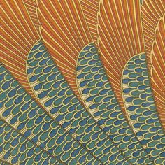 Egyptian wings #inspiration #surfacedesign by printedvillage