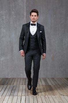 121 Best Black Tie Images Groom Attire Wedding Outfits Dream Wedding