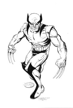Wolverine commissions by John Byrne. 2007.