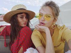 """199.8 tusind Synes godt om, 684 kommentarer – Romee Strijd (@romeestrijd) på Instagram: """"Hello we're Taymee, and we're on a boat ⛵️"""""""