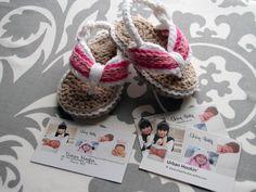 Crochet Baby Sandal's