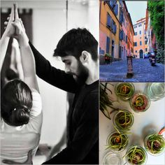 #yoga #urban #rome #cooking #italy  Yoga&Cooking Workshop visit us on http://www.soulbodyjourney.com/