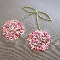hand embroidery stitches how to Embroidery Neck Designs, Hand Embroidery Videos, Hand Embroidery Flowers, Embroidery Stitches Tutorial, Hand Work Embroidery, Creative Embroidery, Simple Embroidery, Silk Ribbon Embroidery, Hand Embroidery Patterns