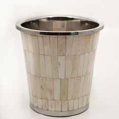 The possibilities for this Bone Inlay Champagne Bucket are endless!