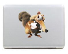 YES. Cute squirrel Macbook Color Decals Mac Decal Macbook Stickers Laptop decal Macbook Pro/Air/ipad sticker Vinyl sticker Apple sticker