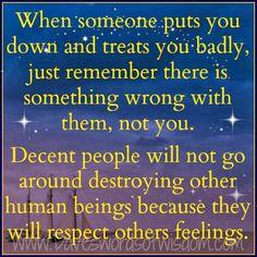 Daveswordsofwisdom.com: Decent People Will Show Respect