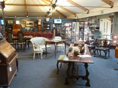 Another interior view of the saleroom