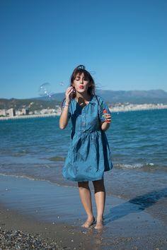Marzipan - Vintage fashion blog : Le mille bolle blu