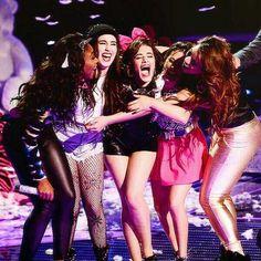 Fifth Harmony-Normani Kordei Hamilton, Lauren Michelle Jauregui, Karla Camila Cabello, Allyson Brooke Hernandez, Dinah Jane Hansen