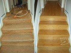 Bamboo Flooring Stair Treads   Bamboo Floor