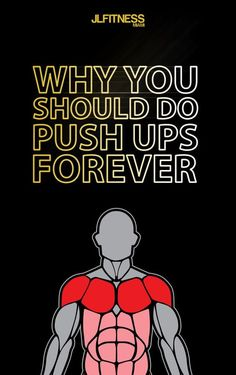 Push-ups are one of the best exercises ever .Here is how to do a proper push up and how to do variations of it. Fitness Before After, Chest Workouts, Gym Workouts, At Home Workouts, Push Workout, Training Workouts, Workout Routines, Health Guru, Health And Wellness