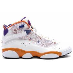 f3c59c0c58b 322992-101 Air Jordan 6 Rings phoenix white varsity purple orange A6R002  Price   103.99