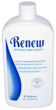 Melaleuca Renew Intensive Skin Therapy-My favorite lotion (i mix in a few drops of lavender oil for a great smelling lotion. lavender is great for skin problems)