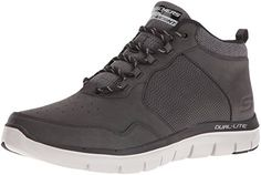Skechers Depth Charge-Eaddy, Zapatillas para Hombre, Negro (Black), 41 EU