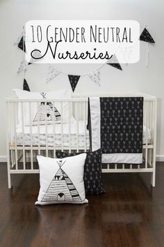 Are you looking for gender neutral nursery ideas? Check out our 10 gender neutra… – Baby Room Ideas Baby Bedroom, Nursery Room, Boy Room, Kids Bedroom, Bedroom Ideas, Monochrome Nursery, White Nursery, Nursery Neutral, Neutral Nurseries