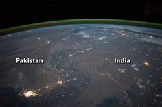 Photographs taken by astronauts aboard the International Space Station show the impact humans have had on the earth. Whether it is agricultural deforestation policies or bitter territorial disputes, humankind's impact on the earth is clear. This series of photographs, below, demonstrate this at its starkest. Kazakhstan – China China has a population in excess of a […]