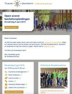 Tilburg University Open Avond