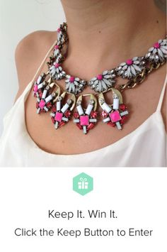Win a perfect layered look from @BaubleBar & @Keep! http://keep.com/extraterrestrial-gem-collar-and-crystal-geisha-collar-necklaces-bauble-bar-by-keepcontest/k/0f9ehRABLn/?referral_code=de2a972636 #KeepItWinIt