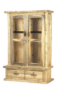 We Carry This Mountain Woods Rustic Aspen Log 10 Gun Cabinet, And Other  Fine American Made Rustic Furniture And Décor. Browse Our Rustic Furniture  Catalogs ...