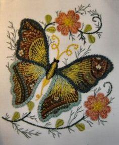 Exotic butterflies.