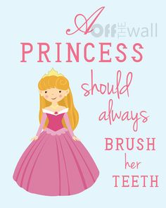 Princess Bathroom Art Prints Set Of 3 8x10 A By Offthewallbyleah 28 00