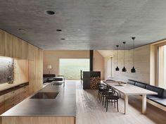Wooden House With Studio By Bernardo Bader Architects | Trendland: Fashion Blog & Trend Magazine