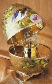 BIRDCAGE perhaps for engagement ring???
