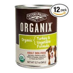 Organic Dog food, Organic Turkey & Organic Vegetables Formula