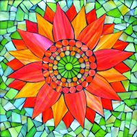 ABruxinhaCoisasGirasdaCarmita: Vidro pintado