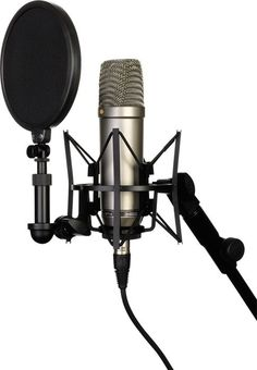 Rode NT1-A Condenser Mic Bundle :: Comes with shock mount, pop filter, cable, mic dust cover.