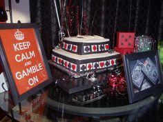Casino night Birthday Party Ideas   Photo 3 of 17   Catch My Party