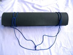 "DIY- The Minimalist 3n1 Yoga Mat Strap. ""Shoulder. Chest. Back. 3 Ways, 1 Strap"" Handmade just for you!"