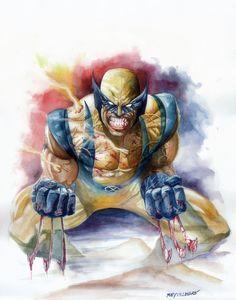 Wolverine by Rey Villegas