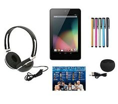 Google Nexus 7 Tablet with Software Suite & Accessory Kit