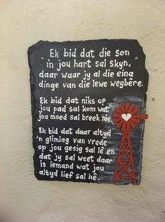 Afrikaans Quotes, Inspirational, Rustic, Words, Country Primitive, Retro, Farmhouse Style, Primitives, Country