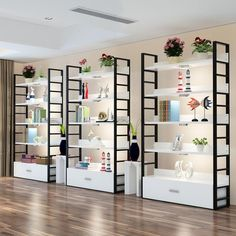 Salon Interior Design, Boutique Interior, Retail Shelving, Retail Store Design, Retail Stores, Store Interiors, Store Fixtures, Retail Interior, Display Shelves
